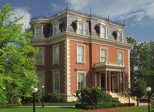 Beautiful Governoru0027s Mansion: Second Empire House   Jefferson City, MO (Daveu0027s  Victorian House Site   Missouri Gallery) | Exterior Design: BRICK |  Pinterest ...