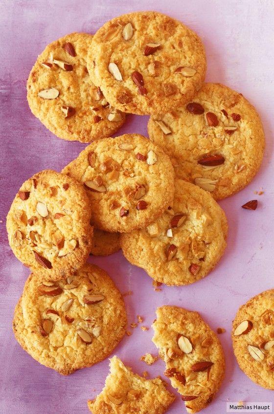 Weiße Schoko-Kokos-Cookies