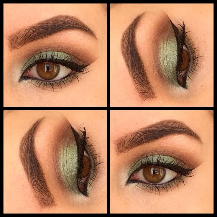 St Patrick's Day makeup!