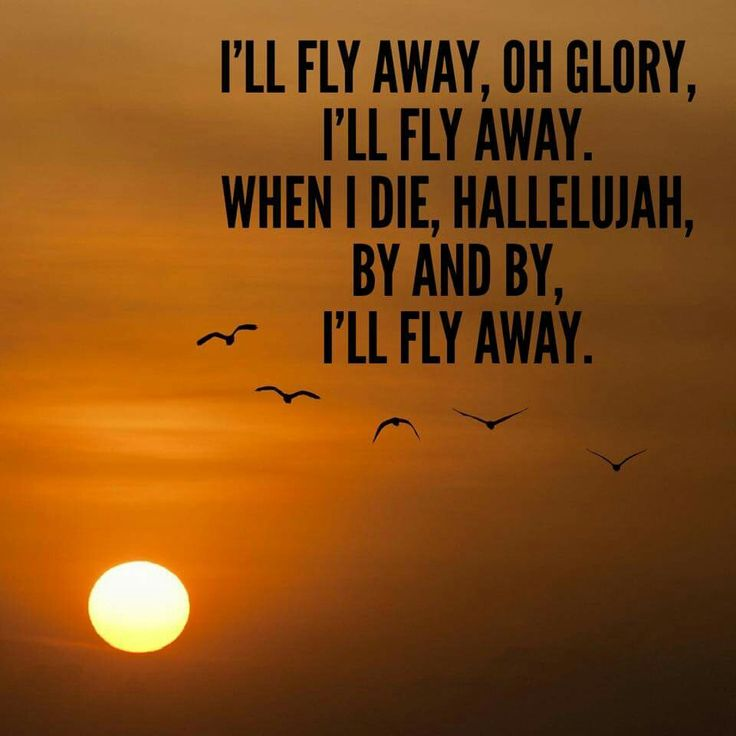 I'll Fly Away - Lyrics, Hymn Meaning and Story - godtube.com