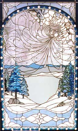 Winter Wind by Chippaway Art Glass