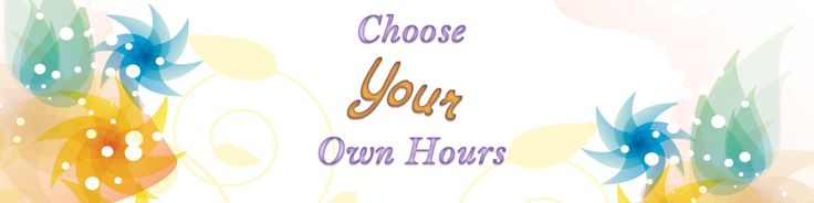 Choose Your Own Hours - I don't know about you, but I have a very busy and hectic schedule. Between working from home full time as a SharePoint Designer so I can take care of my Mother and family at home, cooking, cleaning, running errands, and all the other fun stuff us Mothers do, I don't have a whole lot of time left at the end of the day. If I had to leave my home each day, work a 8 hour shift, return, clean, cook, take care of everyone, I don't know