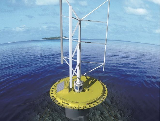 World's first hybrid wind/current generator could generate double the power