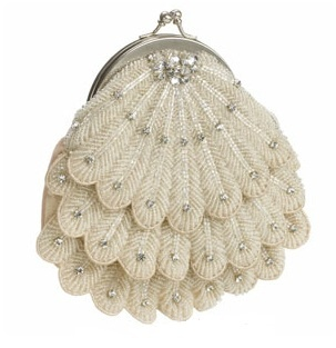 Wedding ●  Accessories ● Beautiful 1920's clutch by Monsoon