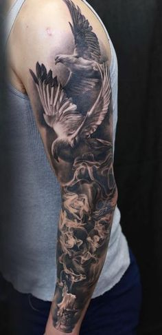 Awesome Arm Sleeve Tattoo