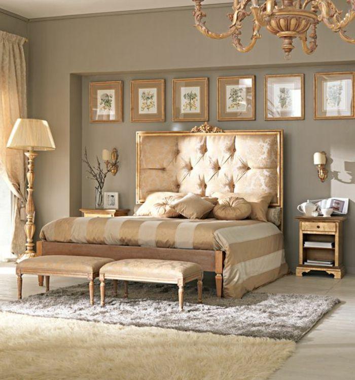 Aujourd' hui on est inspiré par le lit capitonné. Ce meuble rappelle beaucoup à l'intérieur baroque. Mais ce qui est le plus important ici est le design ...
