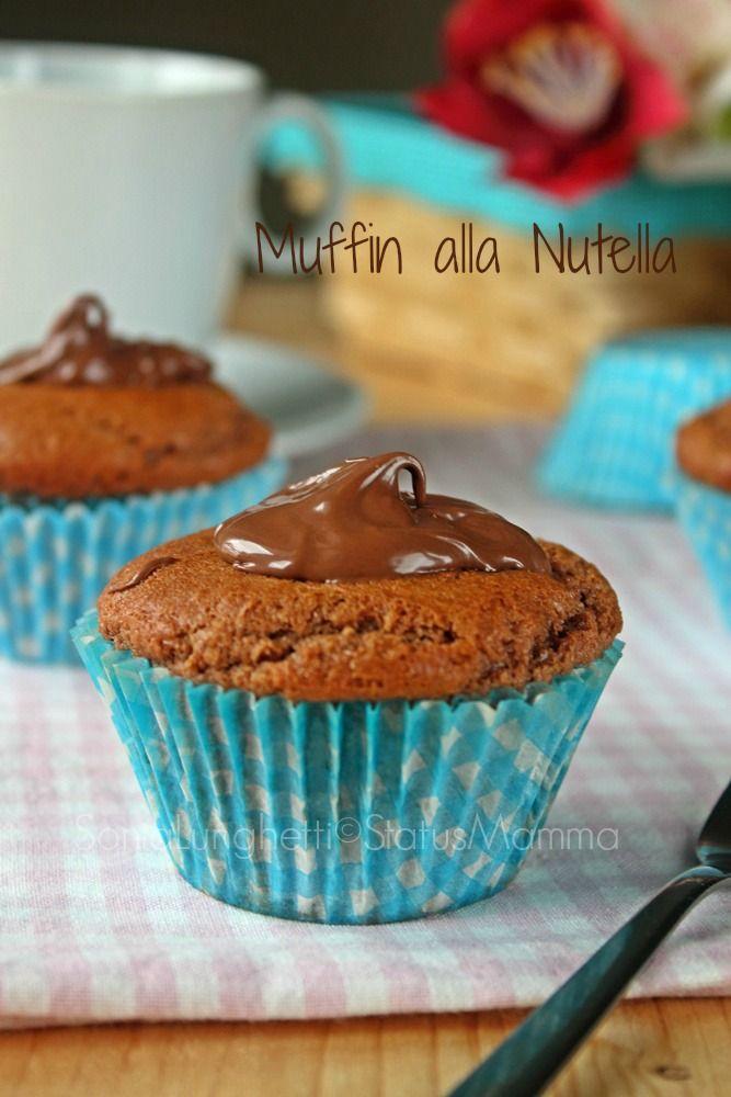 Muffin alla nutella ricetta golosa colazione merenda semplice veloce confortfood bambini relax foodporn cucinare Giallozafferano blogger bloggerGz passo passo tutorial