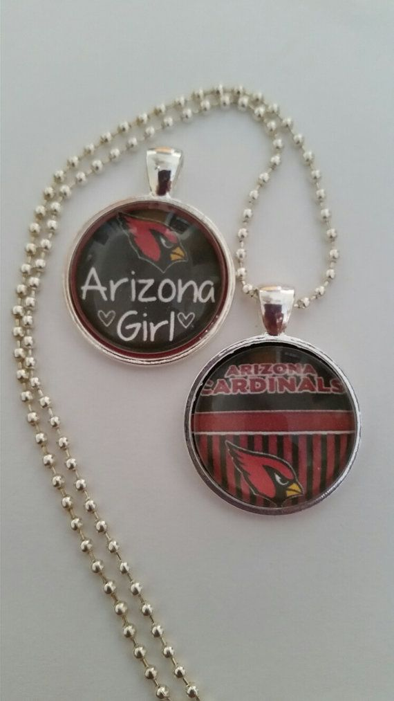 Arizona Football necklace 24 ball chain by BrumbleBerryBoutique