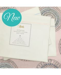 100% Egyptian Cotton Percale Cot Sheet sets