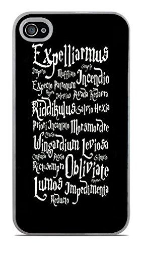 Trendy Accessories Magic Spells Quotes Design Print Image White Hardshell Case for iPhone 4 / 4S available at https://www.amazon.com/dp/B017NRDJP0 #iphone4 #customizediphone4casing #hardshellcasing #iphone4accessories #mobileaccessories #magicspellsquotes #tadesigns