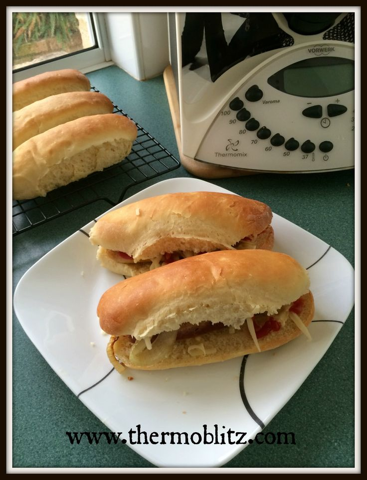 Healthy Hot Dog Rolls