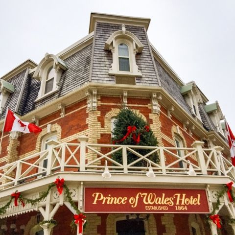 Located on King Street and Picton in the historical precinct of Niagara-on-the-Lake, The Prince of Wales hotel was built in 1864 by Willia...