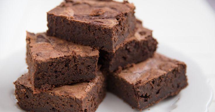 Difficile de ne pas devenir accro de ce brownie aux bananes et chocolat !