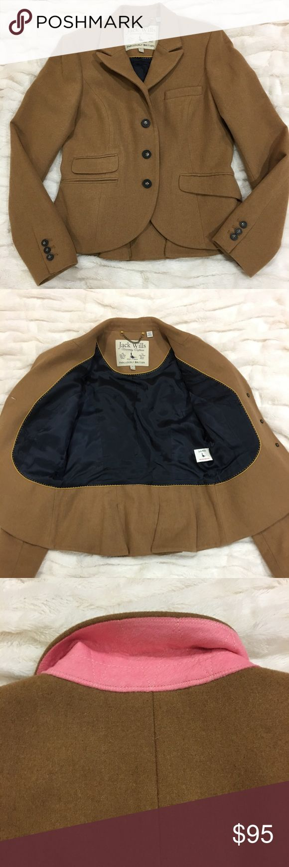 Jack wills blazer jacket size 10 Gorges jack wills blazer size 10 Jack Wills Jackets & Coats Blazers