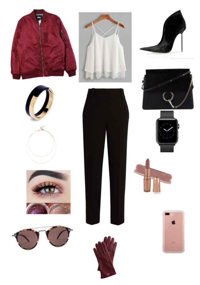 """Sin título #213"" by carolinaramirez-1 on Polyvore featuring moda, Stussy, The Row, Chloé, Marni, Sole Society, Belkin, Oliver Peoples y Mark & Graham"