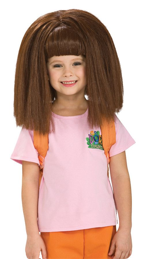 Hairstyles For Little Girls 25 little girl hairstylesyou can do yourself Dora Wig