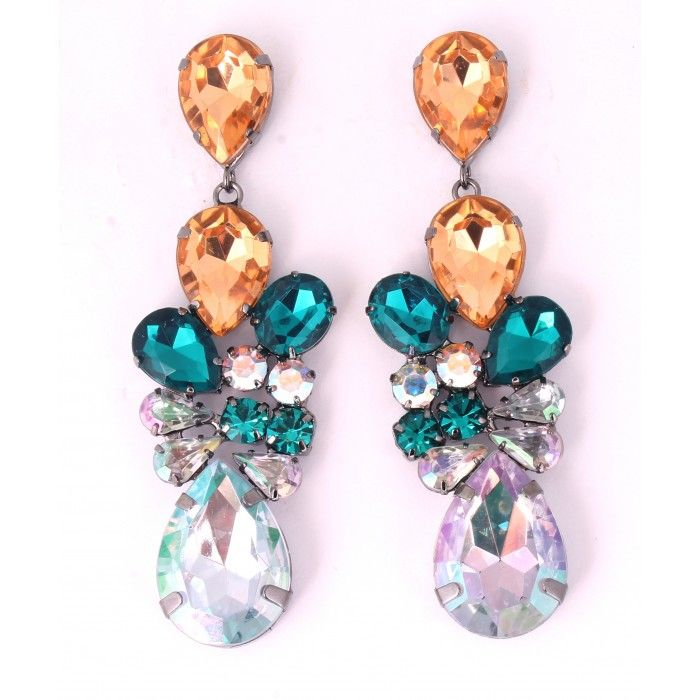 Beautiful colorful DOPLHIN earrings