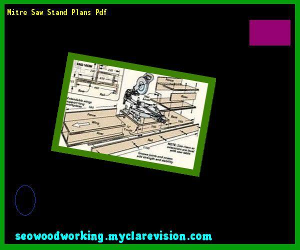 miter saw stand plans pdf