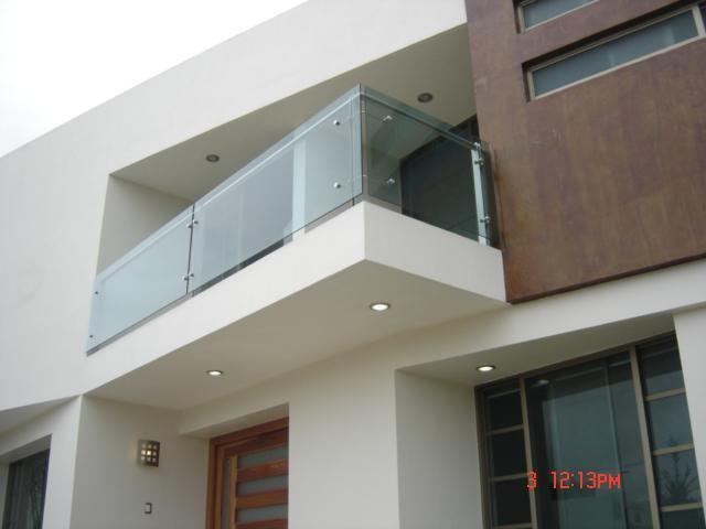 terraza con barandal de acrilico - Buscar con Google