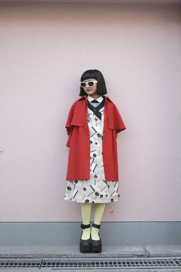 [Street Style] mappy | 小学生 | Harajuku (Tokyo)