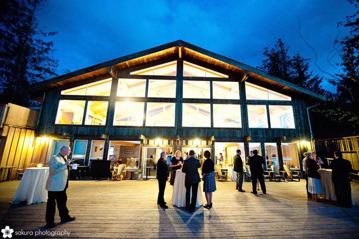 westcoast wilderness lodge wedding