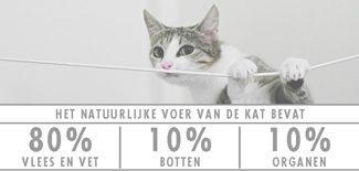 Het natuurlijke voer van de #kat. www.voervoorkatten.nl