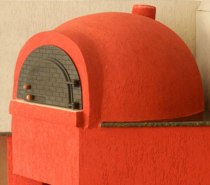 Forno de Pizza em Alvenaria                                                                                                                                                                                 Mais