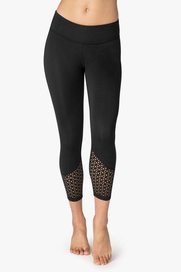 Beyond Yoga Black Capri Leggings