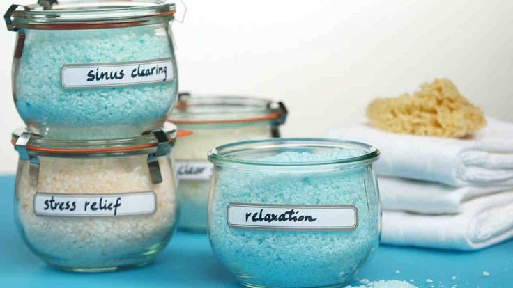 4 idées de sels de bain à faire pour un moment de relaxation incomparable - Astuces de grand mère
