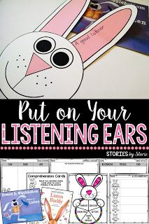 Using picture books at the beginning of the year to help teach your expectations and procedures can be helpful.  Here are some resources to use when working on listening skills. These activities pair well with Listen Buddy by Helen Lester or Howard B. Wigglebottom Learns to Listen by Howard Binkow.