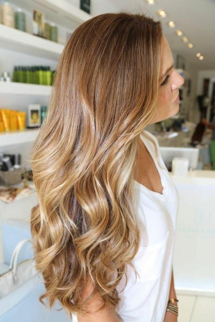 Très Les 25 meilleures idées de la catégorie Cheveux caramel clair sur  GQ01