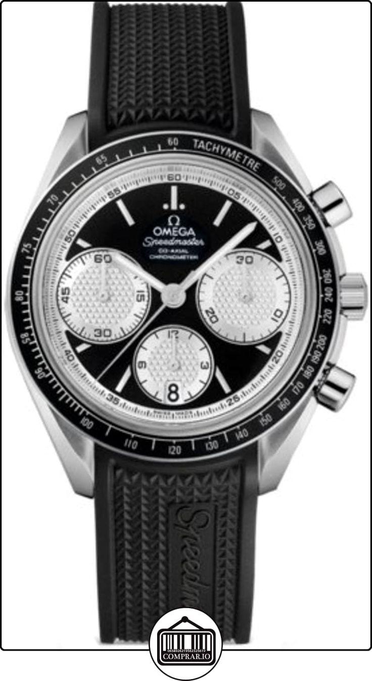 Omega Speedmaster Racing Automático Cronógrafo Acero inoxidable Acero Mens Reloj 32632405001002  ✿ Relojes para hombre - (Lujo) ✿