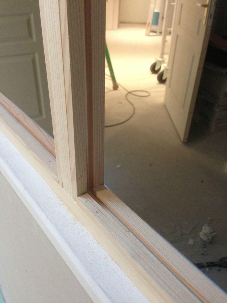 Fabriquer une verrière en bois