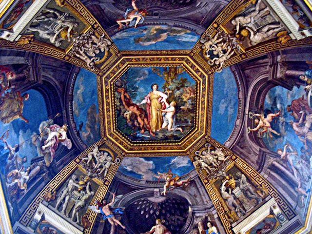 Best Cieiling Painting In Rome