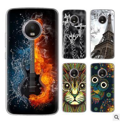 "for Motorola Moto G5 Plus Case Luxury 0.6MM Slim Soft TPU Art Design Pattern Phone Case for Motorola G5 Plus XT1670 XT1675 5.2"""