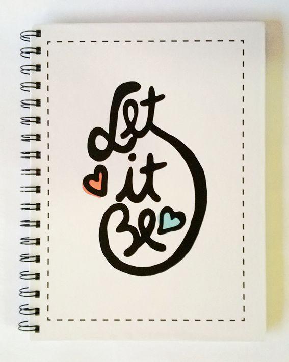 "Cuaderno Beatles ""Let it be"""