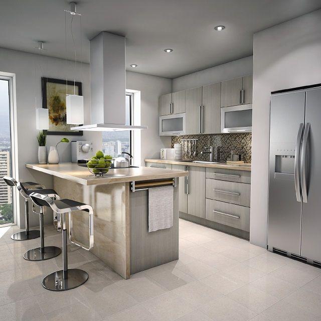 ***white choclate modern-kitchen-Loews Canada -***making this kitchen.