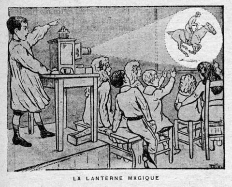 La lanterne magique  -   Leçons illustrées de français