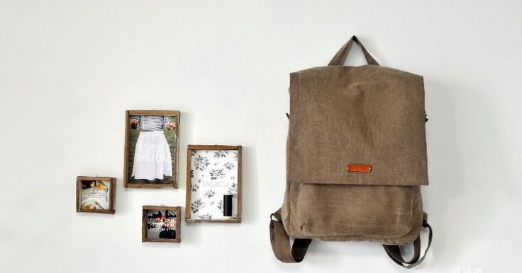 Wanna make this pretty backpack? Here is tutorial!    Follow me on Pinterest :)   http://pin.it/AVGLdLP