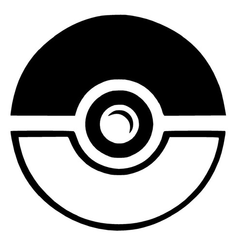 Pokeball Decal 4 00 Stencils Amp Silhouettes Vinyl