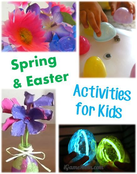 100+ Spring and Easter activities for kids #LearnActivities