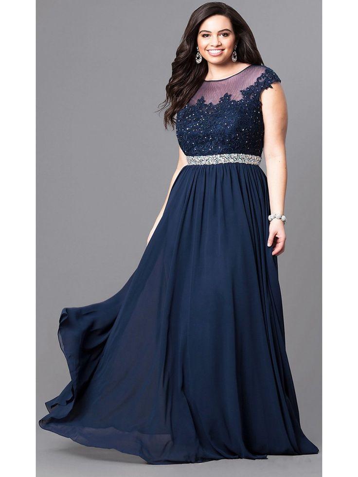 105 best Plus Size Prom Dresses images on Pinterest | Party wear ...