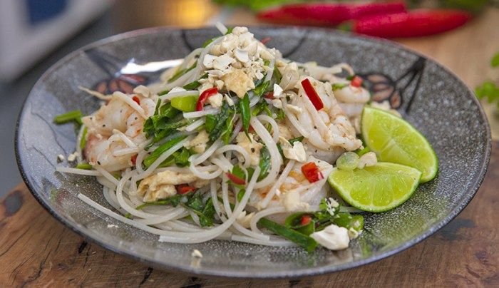 Pad Thai with Brown Rice Noodles