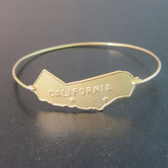 Hey, I found this really awesome Etsy listing at http://www.etsy.com/listing/151524899/california-bracelet-california-bangle