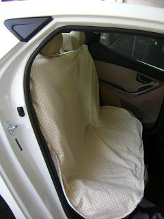 Stacie Thinks She Can: Backseat Car Cover with tutorial