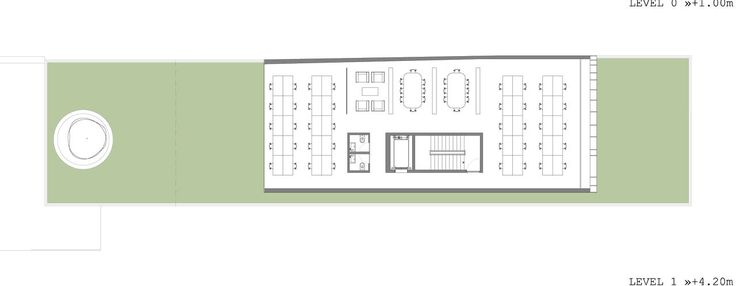 Image 6 of 13 from gallery of Stelmat Headquarters / Aboutblank. plan 01
