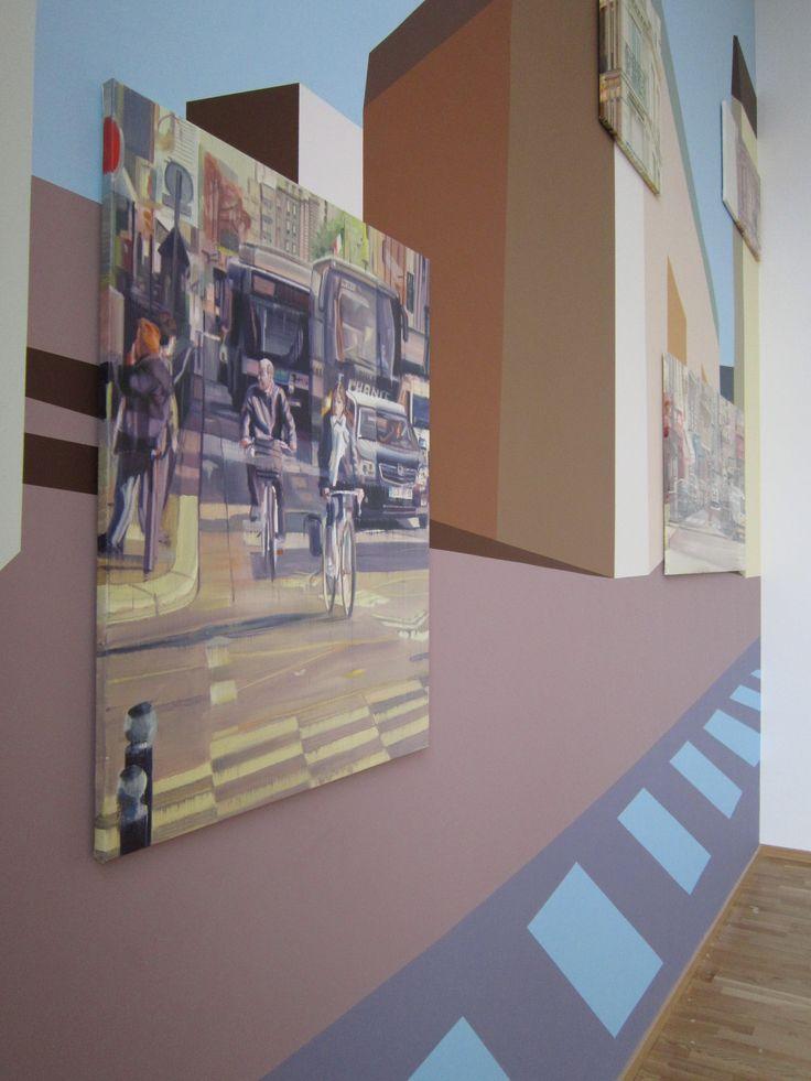 Trekroner Plejecenter vægmaleri
