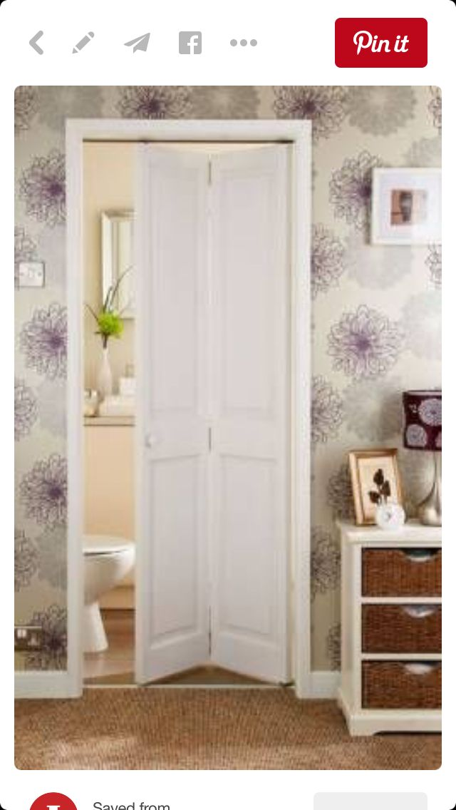 Laundry Bifold Door Bathroom Pinterest Loft