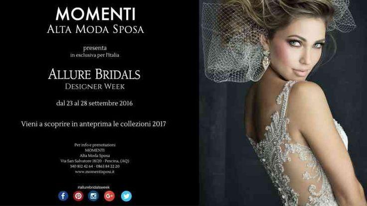 designer week allure bridals collezione 2017