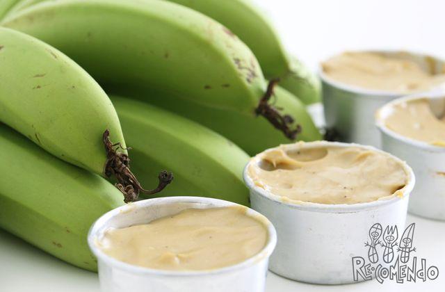 Receita de biomassa de banana verde - Blog Re-comendo